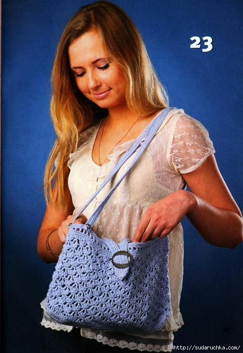 Вязаная копилка №4 2013. Модные сумки спицами и крючком_11 (482x700, 286Kb)