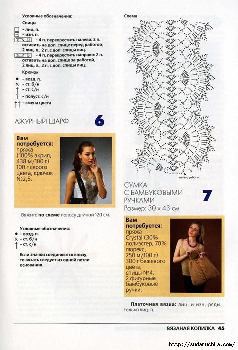 Вязаная копилка №4 2013. Модные сумки спицами и крючком_23 (476x700, 276Kb)