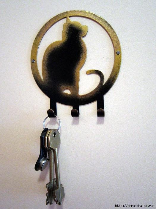ключница-кошка (525x700, 279Kb)