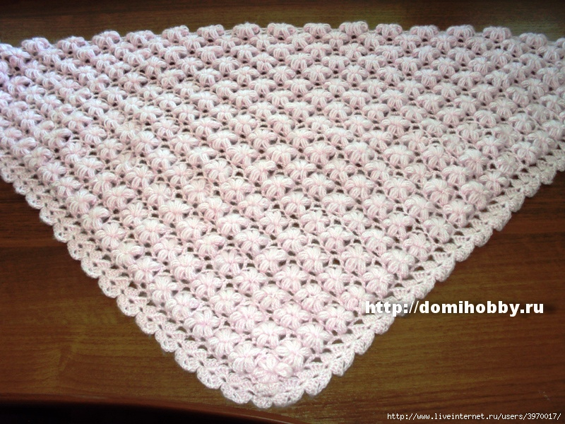Схема для шарфа или палантина:
