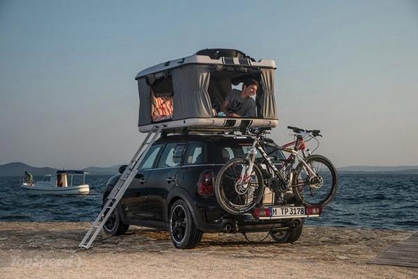 автомобиль Mini с палаткой 4 (600x400, 116Kb)