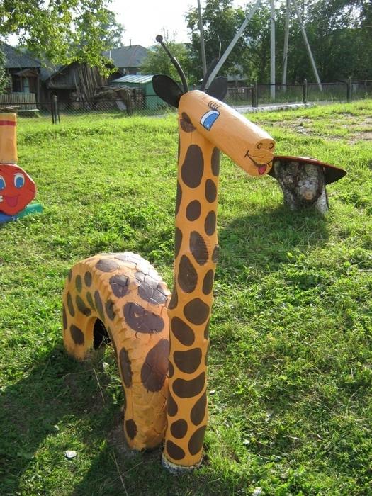 Новогодние объемные игрушки на городскую елку своими