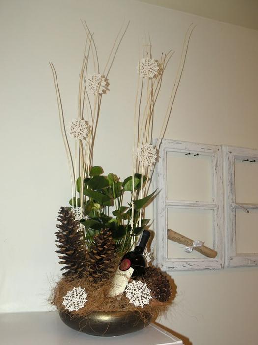 Флористический декор. Очень красивые идеи! (4) (525x700, 193Kb)