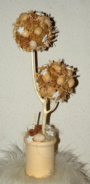 Флористический декор. Очень красивые идеи! (43) (343x700, 184Kb)