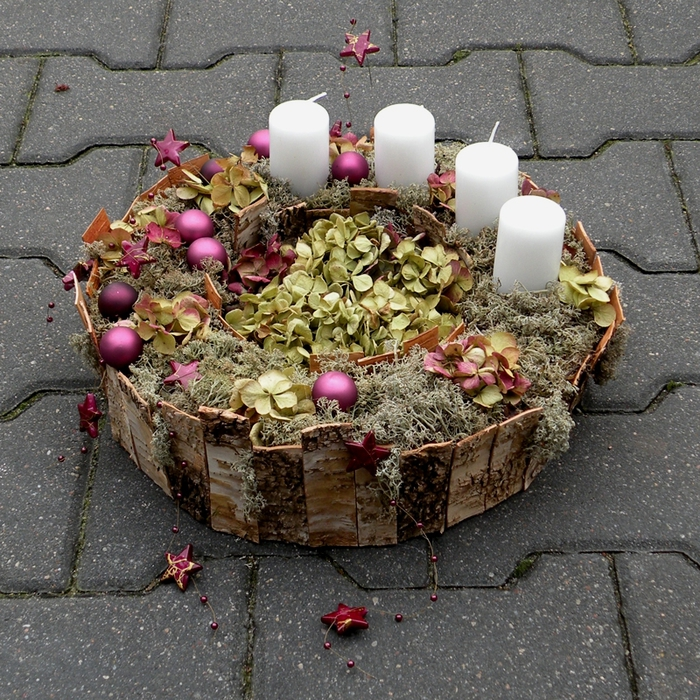 Флористический декор. Очень красивые идеи! (51) (700x700, 474Kb)