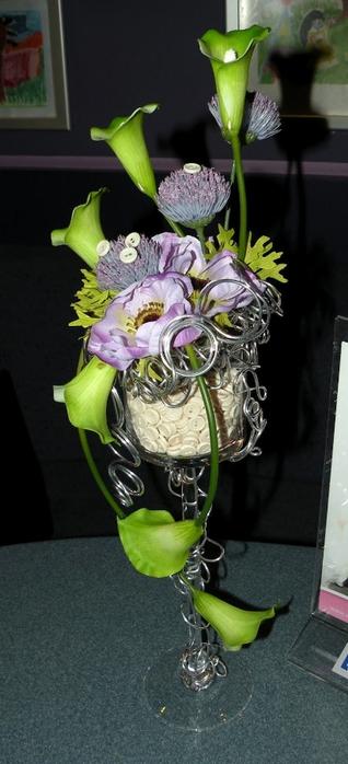 Флористический декор. Очень красивые идеи! (71) (318x700, 162Kb)