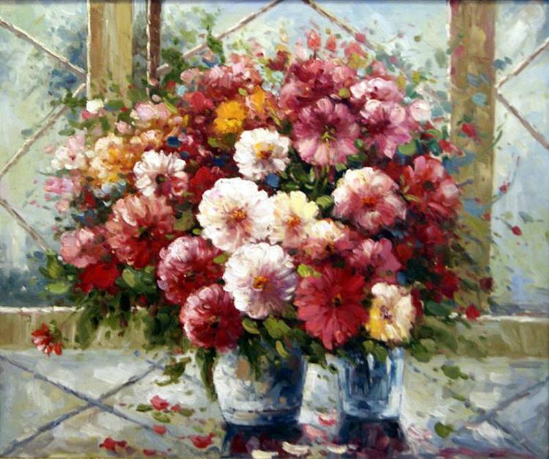 с днём рождения картинки хризантемы