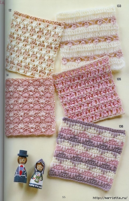 262 узора крючком. Японская книжка со схемами (68) (449x700, 293Kb)