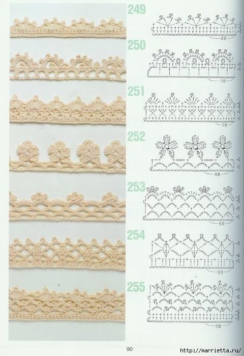 262 узора крючком. Японская книжка со схемами (70) (480x700, 231Kb)