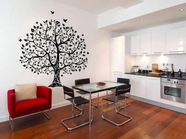 дерево в интерьере фото