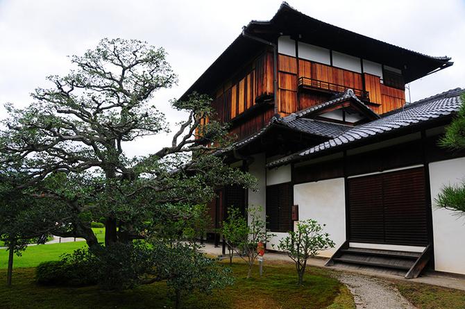 Японский замок Нидзё фото 7 (670x445, 459Kb)