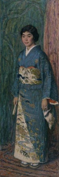 Portrait of a Japanese Woman (Mrs. Kuroki) (233x700, 63Kb)