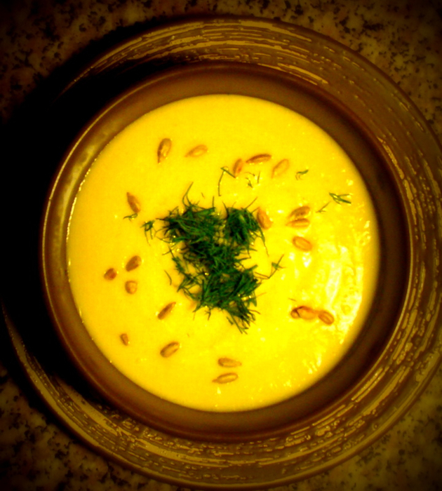 Овощной суп-пюре с кабачками и чесноком рецепт – супы