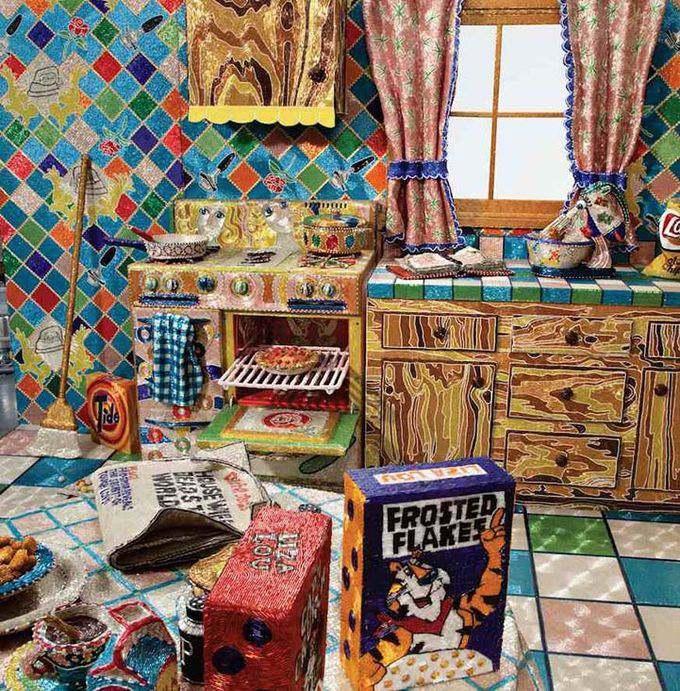 кухня из бисера фото 2 (680x691, 486Kb)