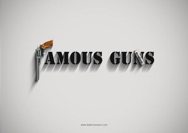Федерико Мауро. Иллюстрации «Известные пушки»
