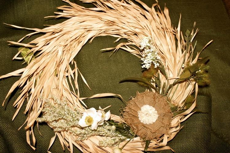 Поделки из початков листьев кукурузы 8