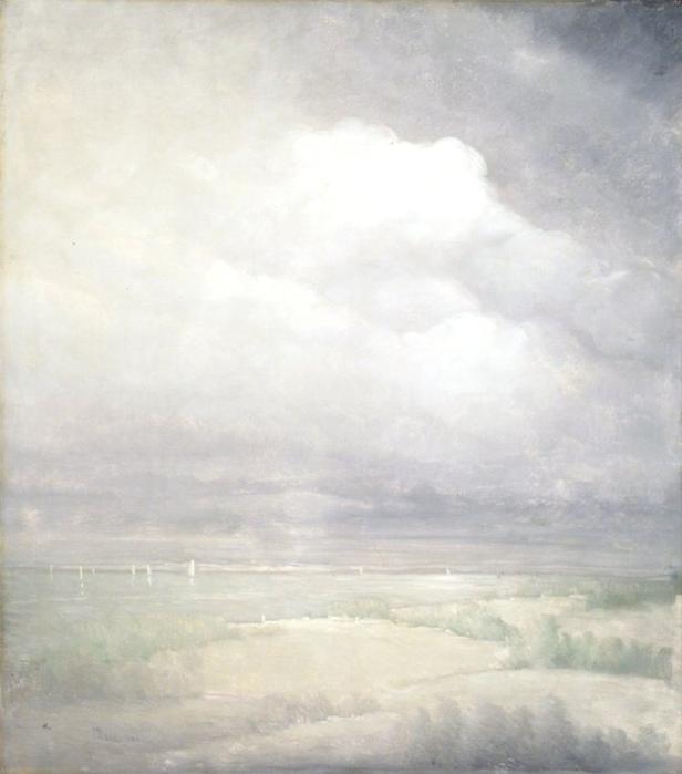 Серебряный свет реки Гудзон, 1911 (616x700, 196Kb)