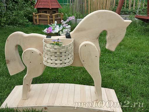 pobedpix.com / деревянные лошадки своими руками