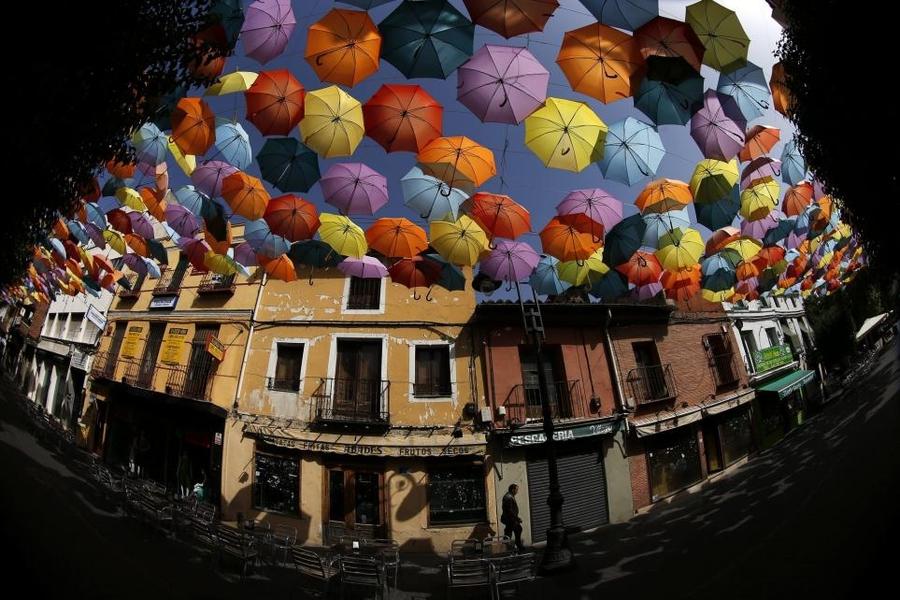 Зонты над городом
