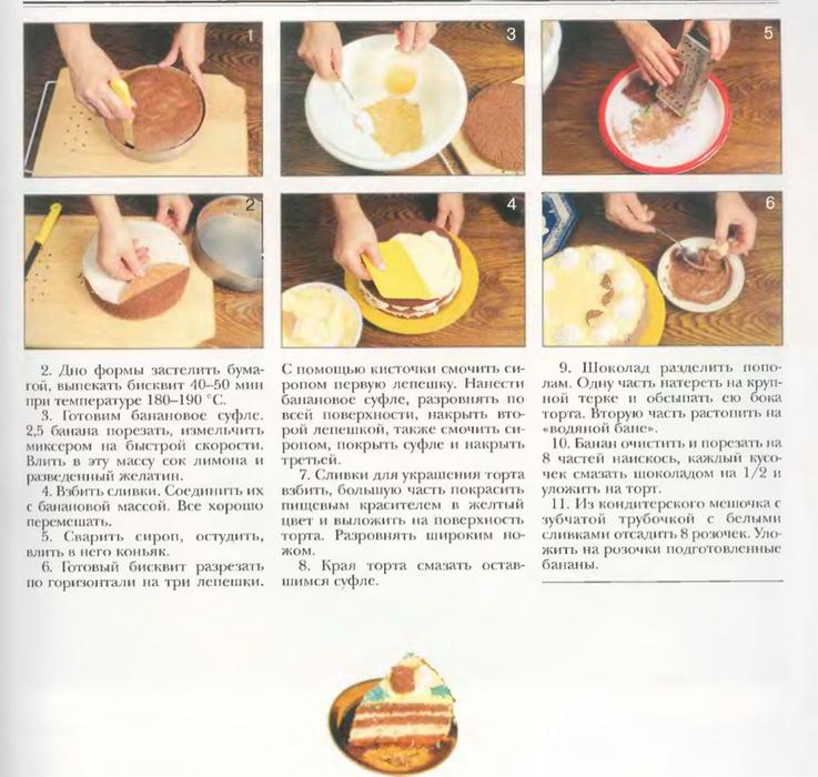 Простые рецепты крема для торта в домашних  428