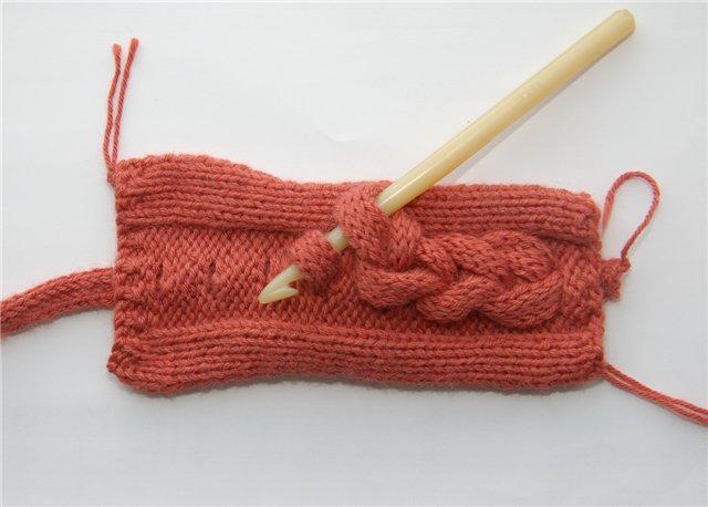俄网的棒针基础教程 13:如何在织物上散装大辫子(大师班) - maomao - 我随心动