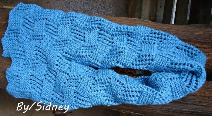 Вязание интересные шарфы спицами