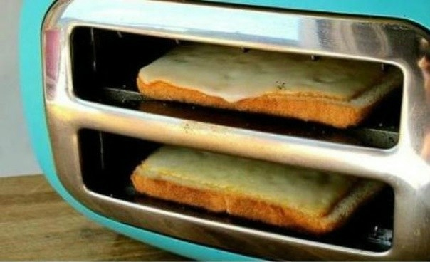 Как в тостере поджарить хлеб с сыром (604x368, 87Kb)