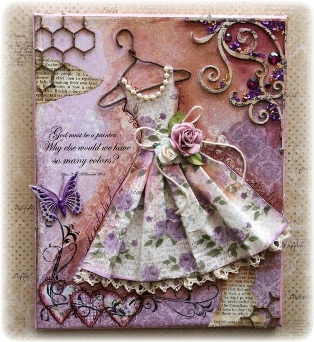 Фото открыток своими руками скрапбукинг