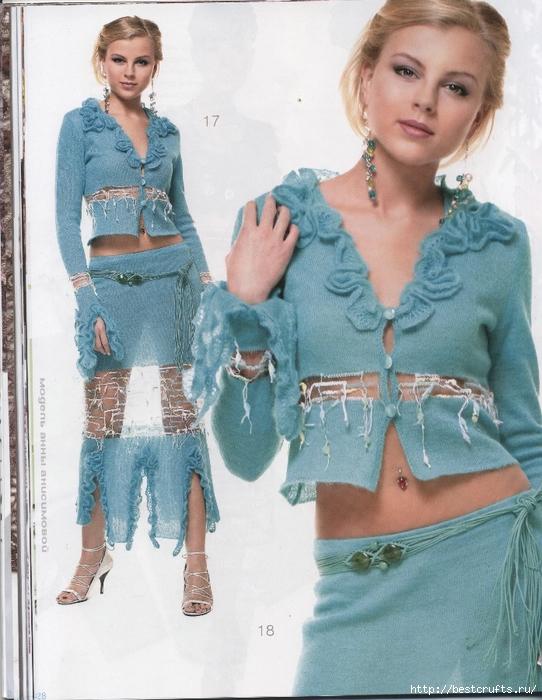 Вязание крючком. Журнал Мод 566. Отличные летние модели (28) (542x700, 301Kb)