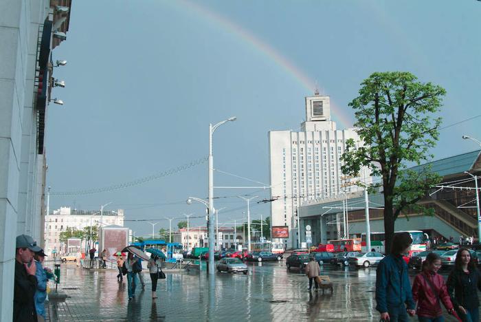 Когда в городе дождь!