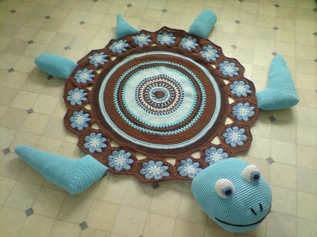 Вязание крючком размер большой - Вязание - фото из журналов