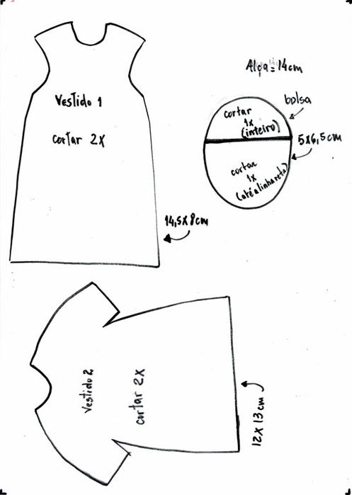 Как сшить куколку из фетра. Мастер-класс (2) (497x700, 76Kb)