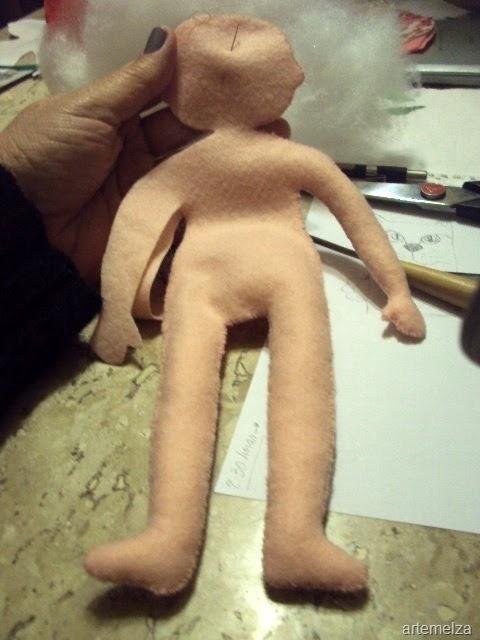 Как сшить куколку из фетра. Мастер-класс (6) (480x640, 159Kb)