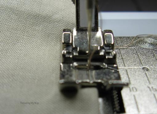 Мастер-класс. Как сшить мешочек на кулиске, с подкладкой (7)