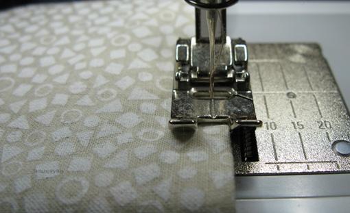 Мастер-класс. Как сшить мешочек на кулиске, с подкладкой (8)