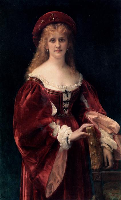 Александр Кабанель Patricienne De Venise (423x700, 382Kb)