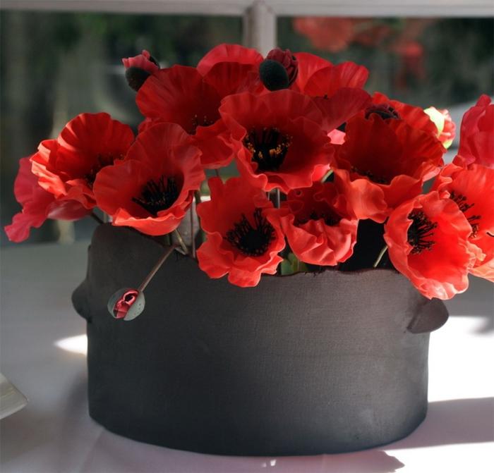 Марка нитей. горячие схемы.  Ifina. цветы.  Теги. популярные схемы. маки. ведро.  Anchor, 50 цветов.