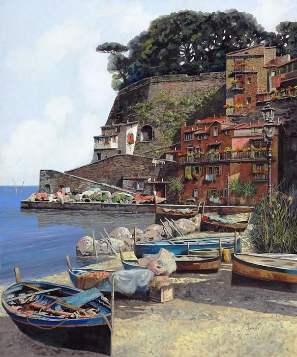 Il mondo di Mary Antony: Il realismo paesaggistico di Guido Borelli