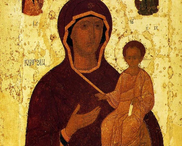Смоленская икона Божией Матери (700x563, 414Kb)