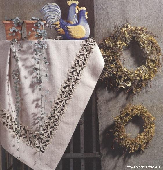Стильное вязание крючком для дома. Схемы (7) (562x586, 286Kb)