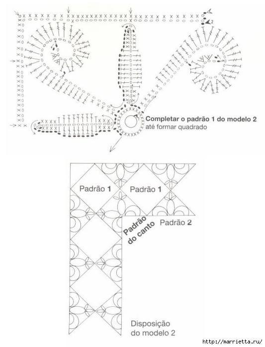 Стильное вязание крючком для дома. Схемы (9) (533x700, 135Kb)