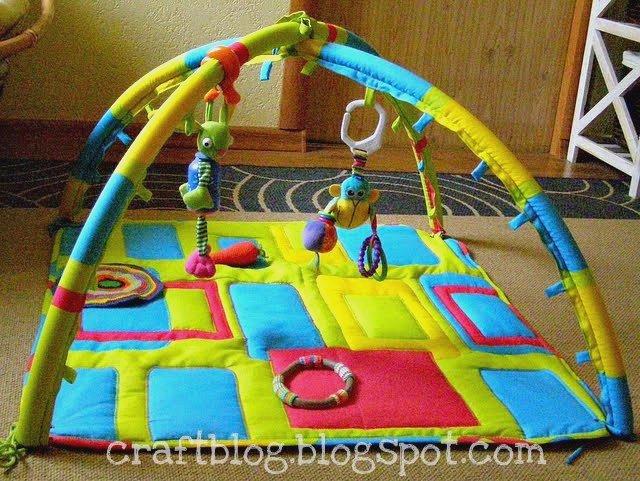 Детские коврики своими руками мастер класс
