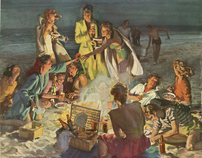 1376172245_78742204_large_Picnic_On_a_California_Beach (700x549, 181Kb)