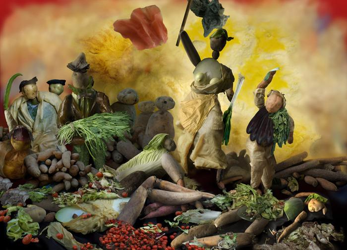 овощные картины Ю Дуоки 15 (700x505, 349Kb)