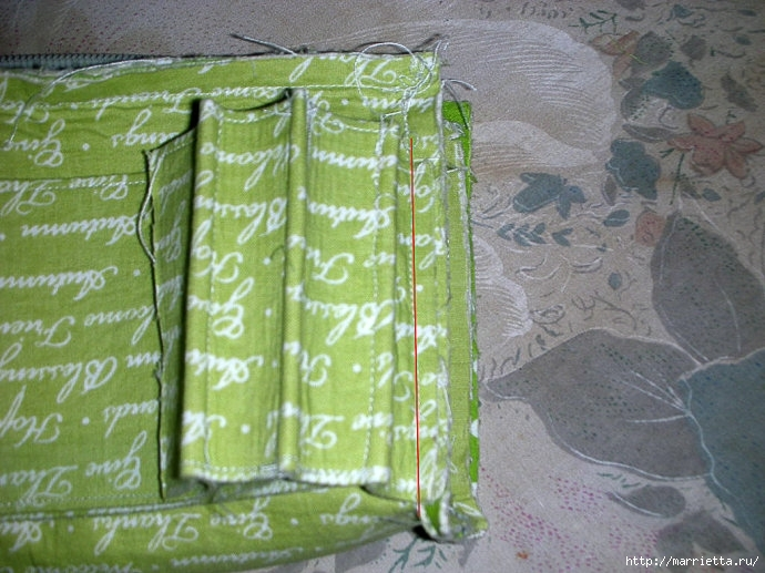 Как сшить сумочку-портмоне. Выкройка и мастер-класс (10) (690x517, 247Kb)