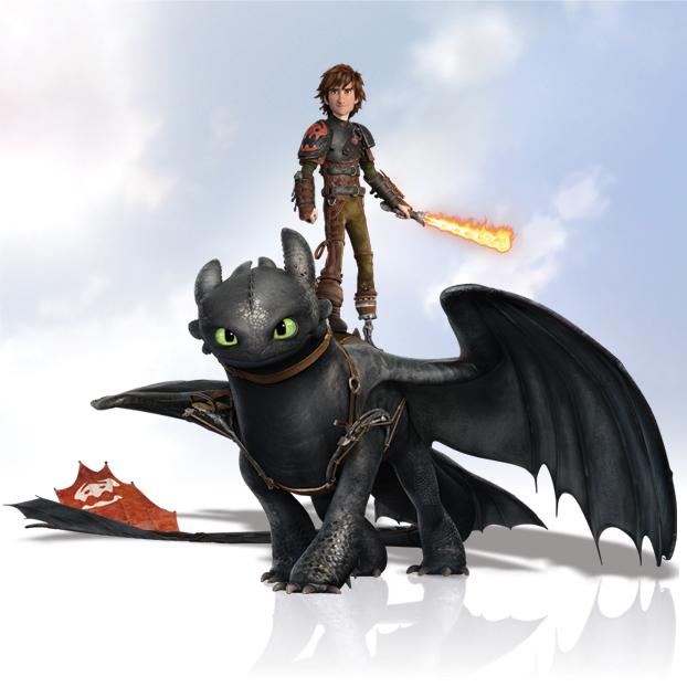 Как приручить дракона 2 в 3d how to train your