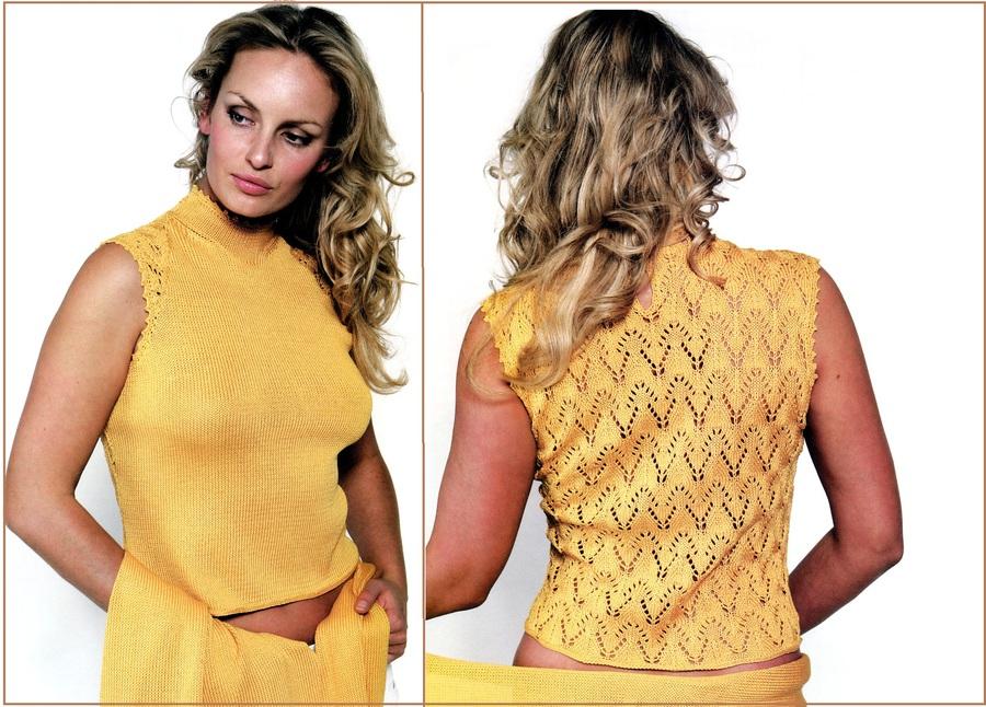 Вязание на спицах из тонкой шерсти