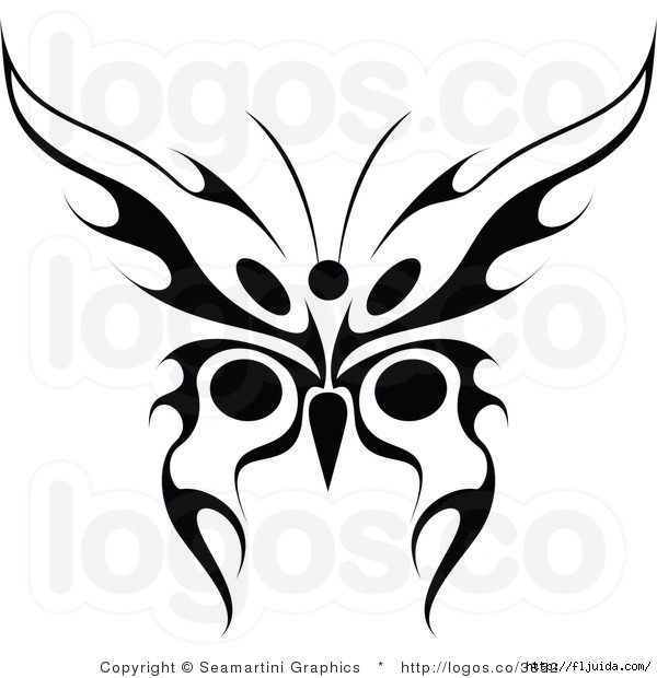 royalty-free-black-butterfly-logo-by-seamartini-graphics-media-3852 (600x620, 124Kb)