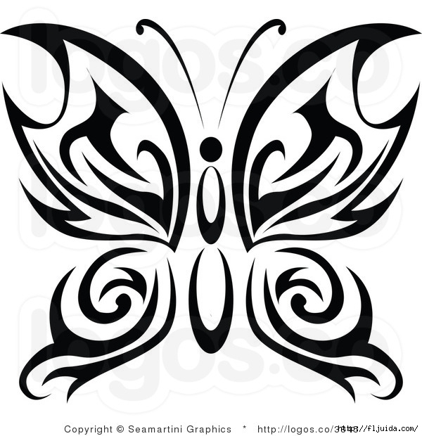 royalty-free-tribal-butterfly-logo-by-seamartini-graphics-media-3845 (600x620, 179Kb)