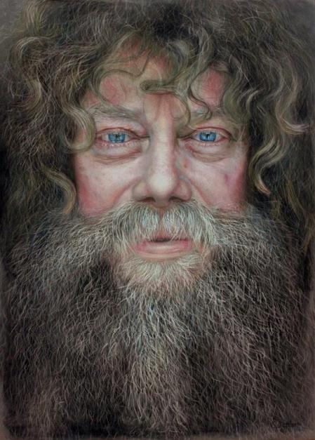 фотореалистичные портреты художника Рубена Беллосо Адорна 4 (449x627, 194Kb)